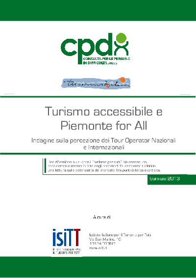Immagine: Turismo accessibile e Piemonte for All